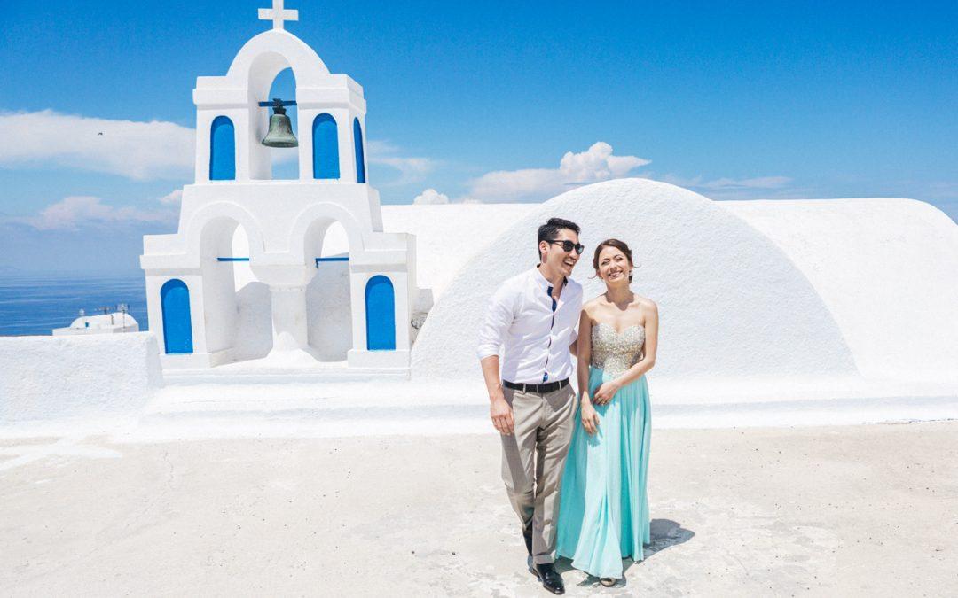 Rena & Yohei, Santorini