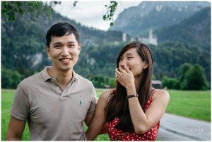 Neuschwanstein Wedding Proposal 08
