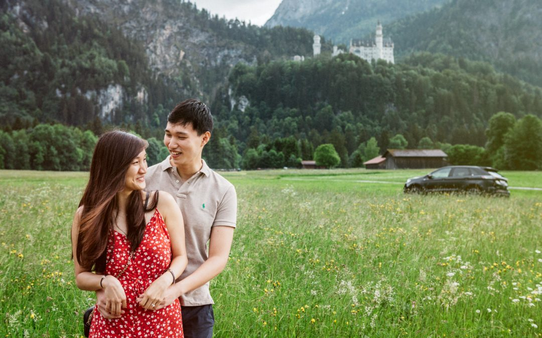 Cheryl & Hong Ngiap, Neuschwanstein