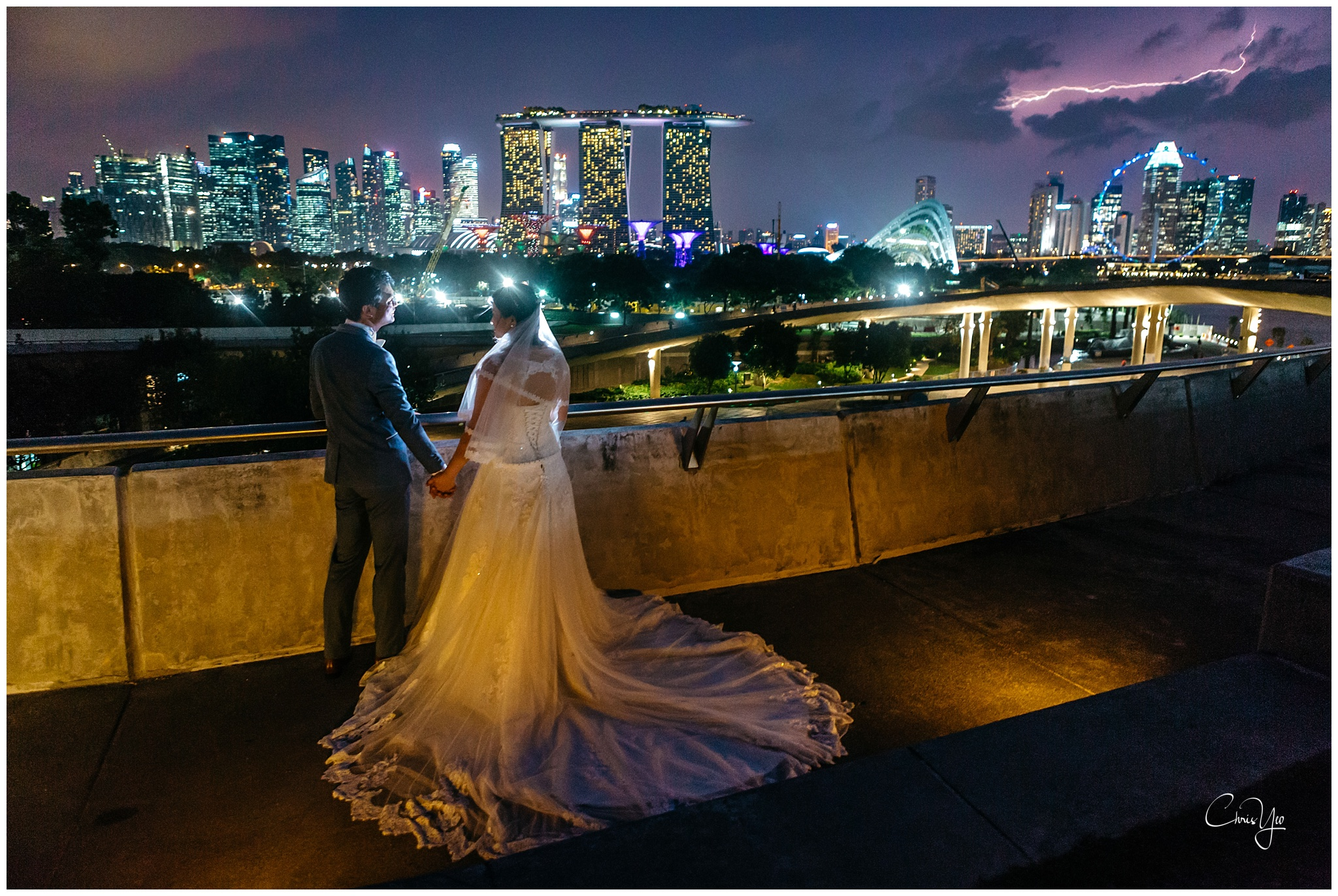 Prewedding Photography Singapore Marina Barrage