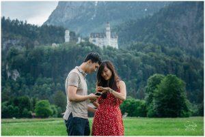Neuschwanstein Wedding Proposal 05
