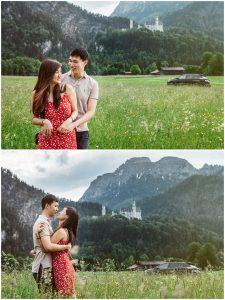 Neuschwanstein Wedding Proposal 06