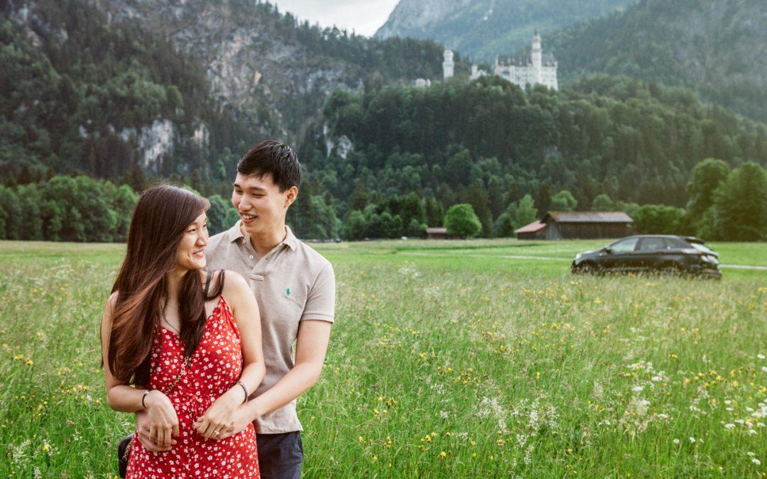 Cheryl & Hong Ngiap, Neuschwanstein